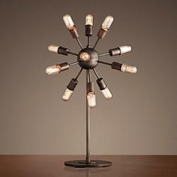 60W E27 Iron Floor Lamp with 12 Lights