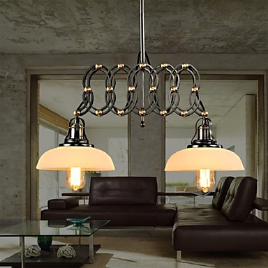 Vintage Stretch Pendant Lights Bar Counter Restaurant Pendant Lamps Industrial Cafe suspension luminaires bar Lighting