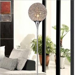 Spherical 40W Crystal Floor Light Modern Creative Floor Lamp Send E27 Bulb