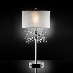 60W E27 Elegant Table Lamp in Cylindrical Shape