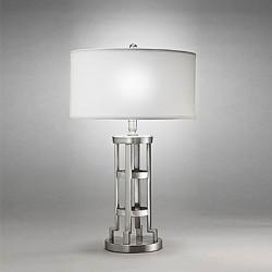 60W E27 Modern Table Lamp in Cylindrical Shape