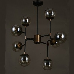 Art glass Ball Personality Round Beanstalk Chandelier