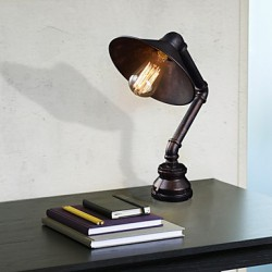 Desk Lamp with Metal Shades