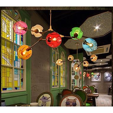 Art Color Glass Bulb Pendant Living Room Dining Room 6