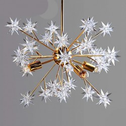 Creative Spark, Wrought Iron Ball Stars Droplight Atmosphere
