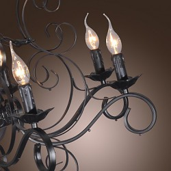 Max 60W Traditional/Classic Candle Style Others Chandeliers Living Room / Bedroom / Dining Room