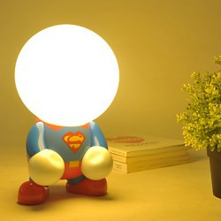 DC 5V 16*16*16CM 0.3W 220V Europe TypeLed Creative Cartoon Energy-Saving Decorative Lamp Light Led