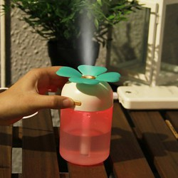 2W 11.8*8.5CM Lucky Grass Colorful Night Light Humidifier Creative Desktop And Lovely Place Lamp Light Led