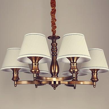 5 Rustic/Lodge / Vintage Mini Style Electroplated Metal Chandeliers Living Room / Bedroom / Dining Room / Kids Room