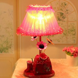 Valentine'S Day Trawberry Decoration Flower Arranging Household Handicraft Furnishing Articles Desk Lamp Led Light